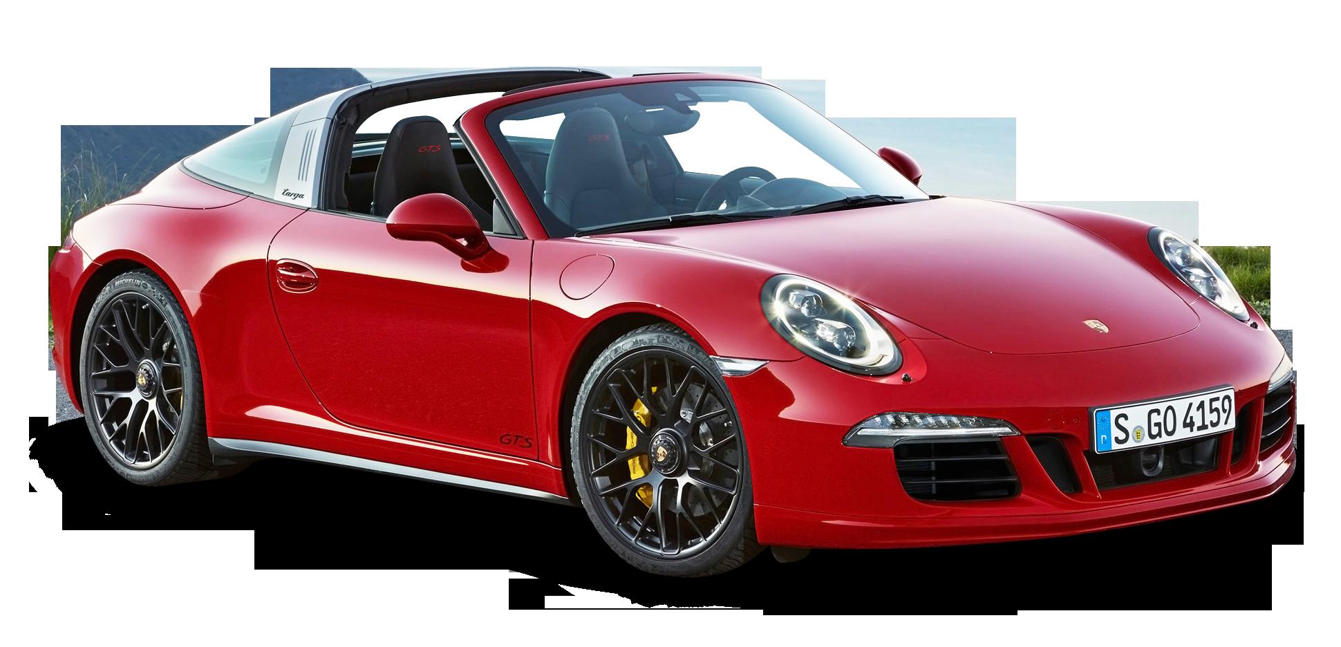 Red Porsche 911 Targa 4 Gts Car Png Image Porsche 911 Targa Porsche Porsche 911