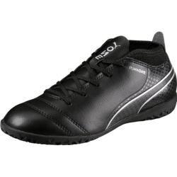 Photo of Zapatillas de fútbol sala de fútbol para niños Puma One 17.4 It Jr, talla 22 Puma Black-Puma Black-Silver, talla 22