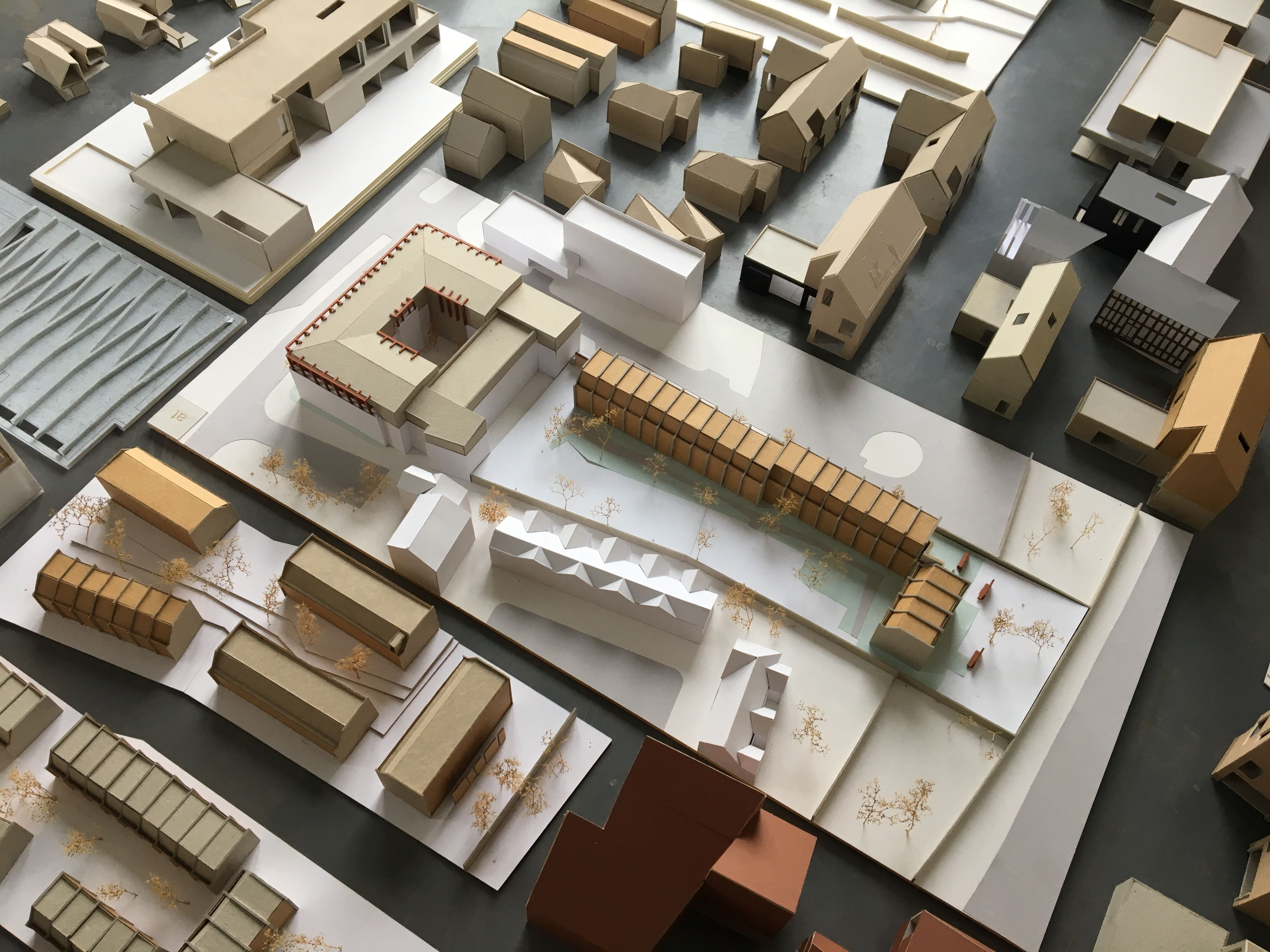 annabelle tugby architects collection of architectural models