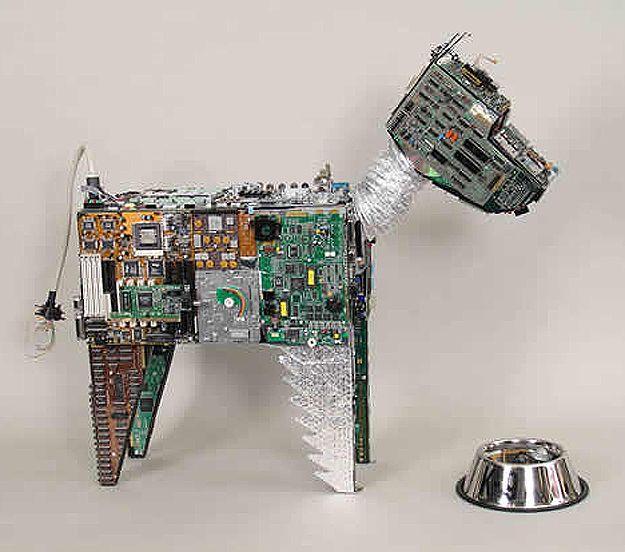 17 creative circuit board inspired designs pets waste art, art