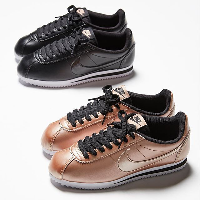 @nikesportswear present the women's Cortez Leather in a refreshing seasonal palette - They can be found online, in size? stores and in size? for women now, priced at £72 - #ladiesthatlace