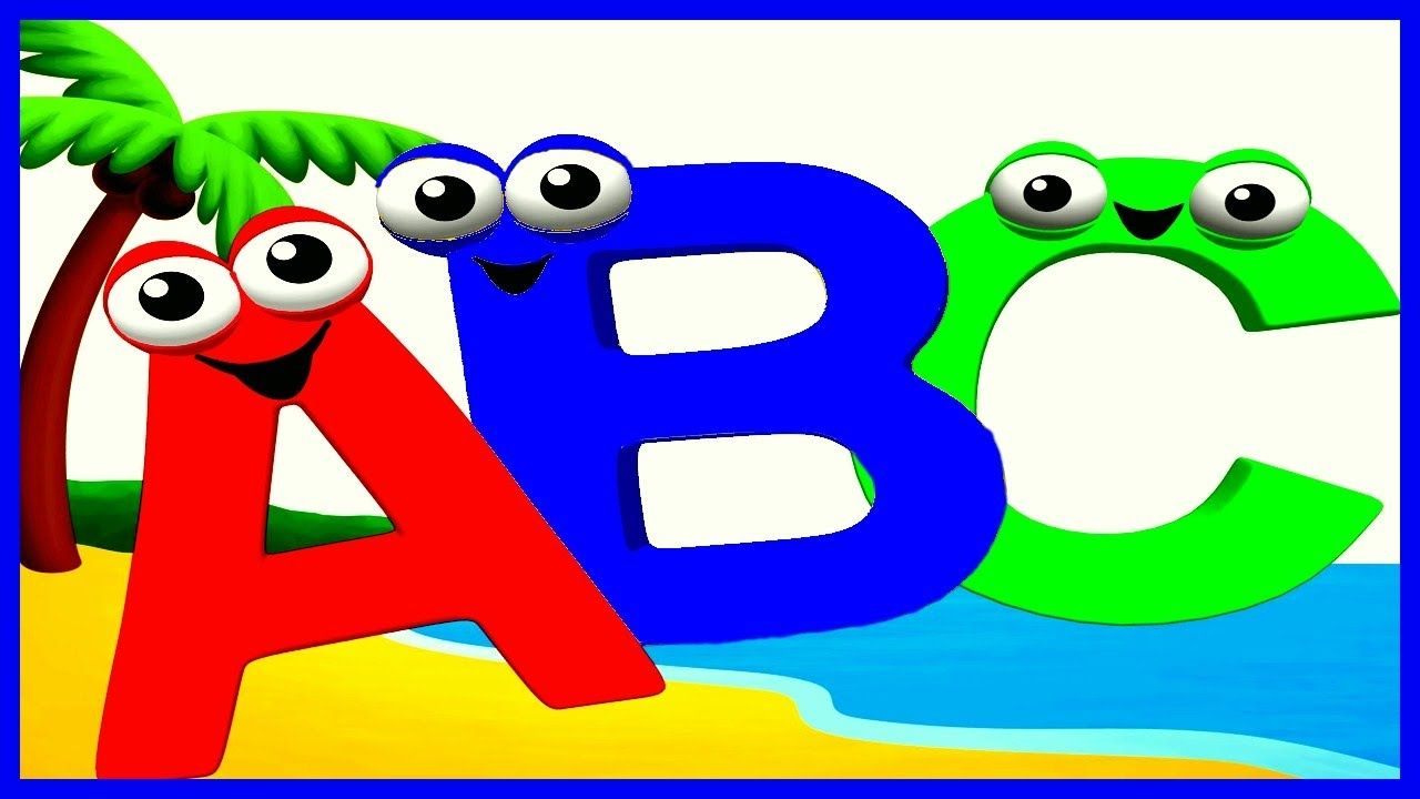Learn Abc Shapes Numbers Colors Learn Alphabet With Cartoon Charact Alphabet Coloring Color Songs Kids Songs