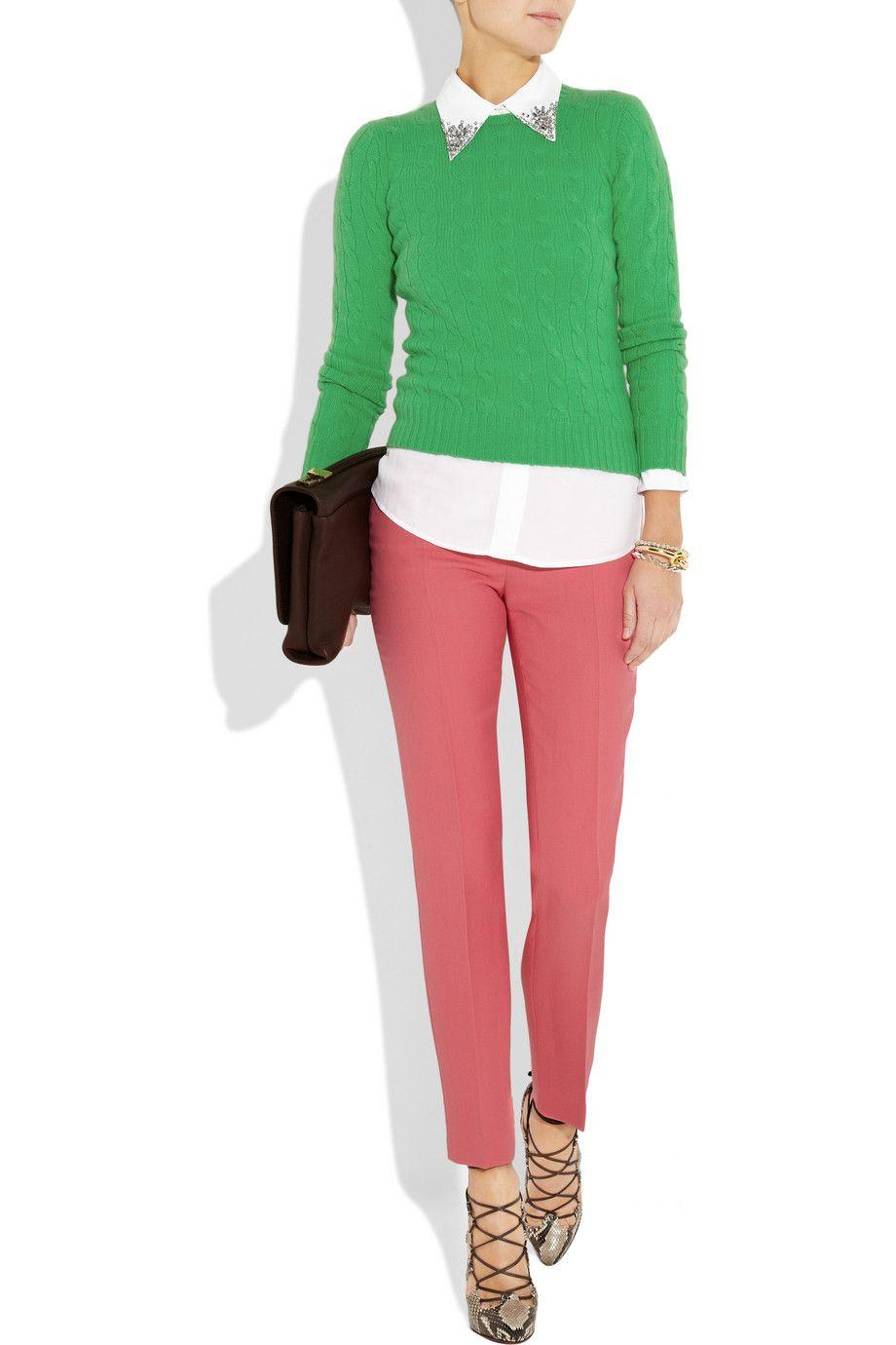 Ralph Lauren Black Label sweater, Equipment top, Emilio Pucci ...