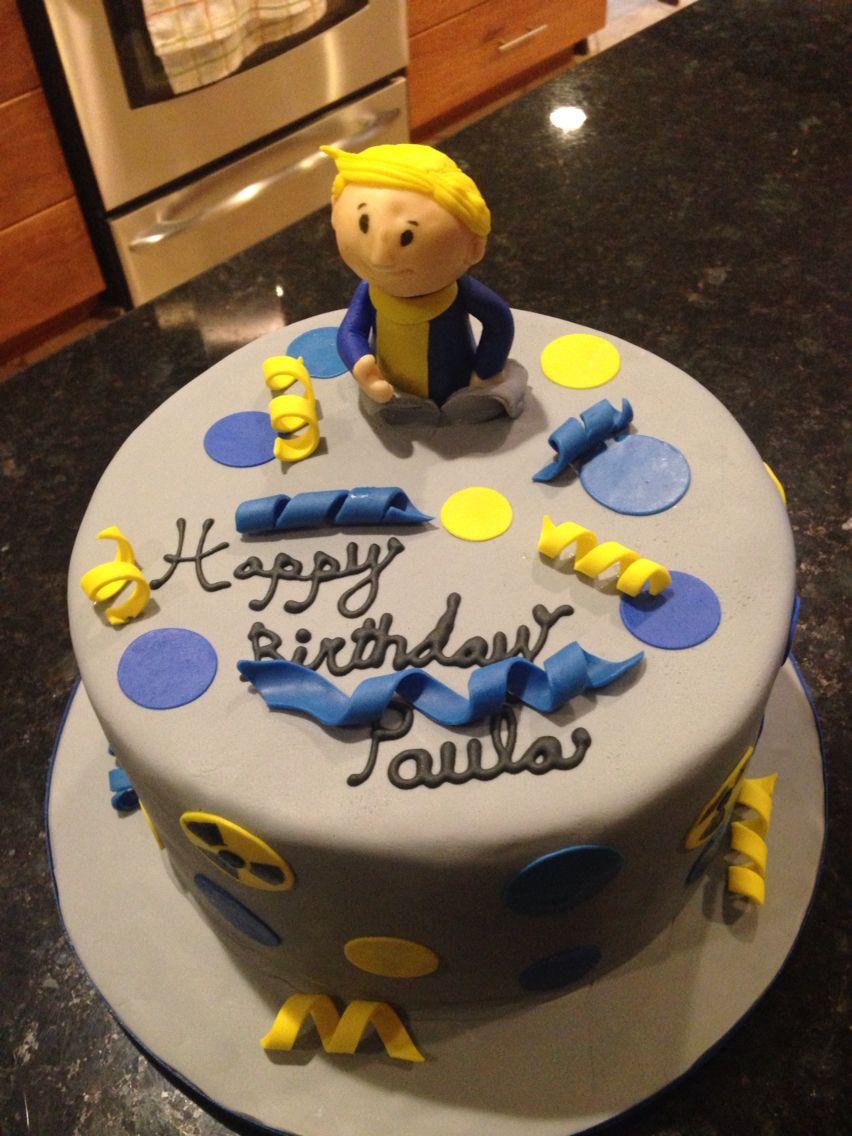 Fallout 4 Cake With Images Cake Decorating Cake Xmas Cake