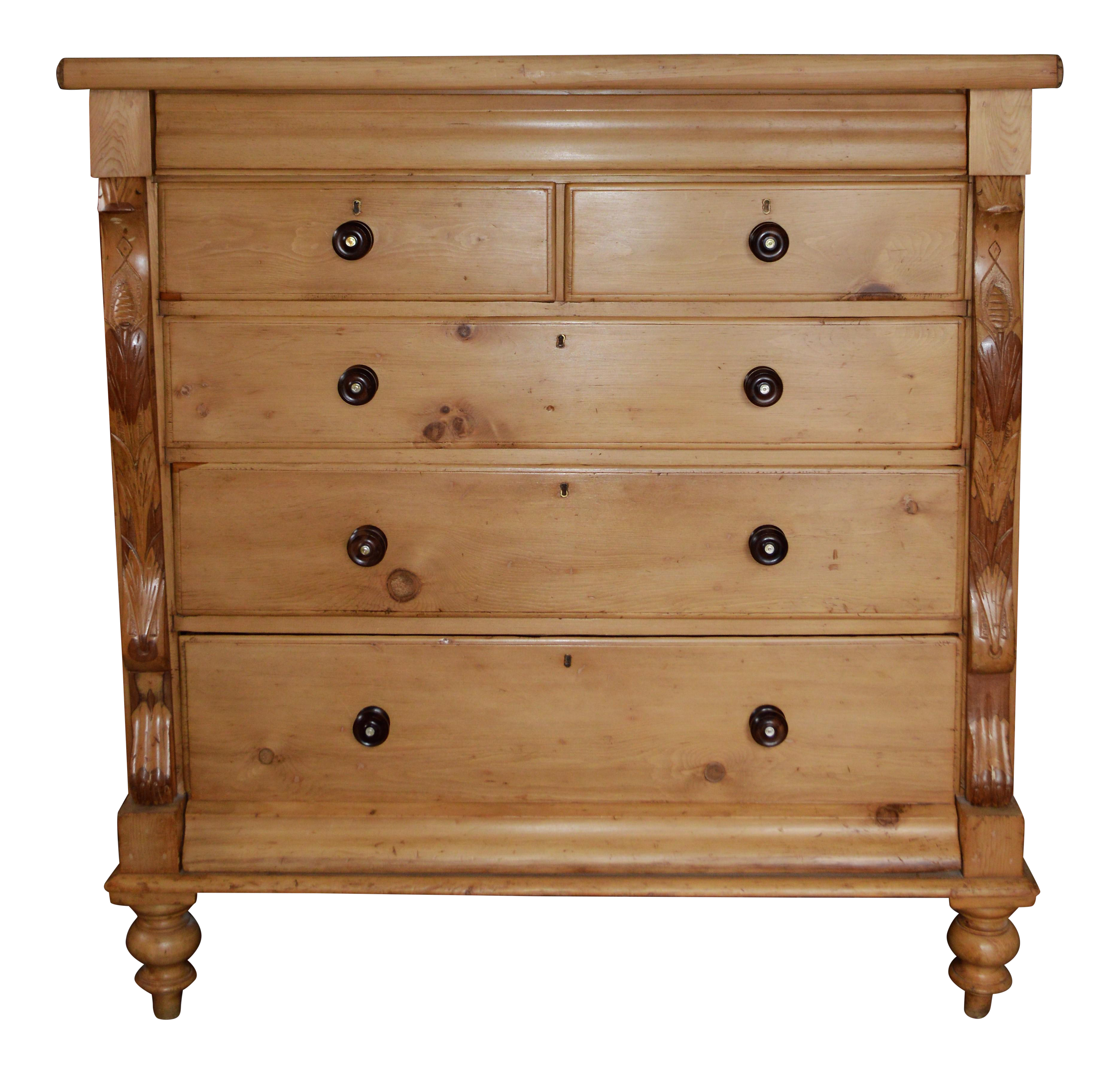 Antique Solid Wood Large Chest Of Drawers Chest Of Drawers Large