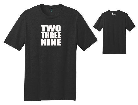 Florida Local - 239 Mens Black Shirt - White Logo