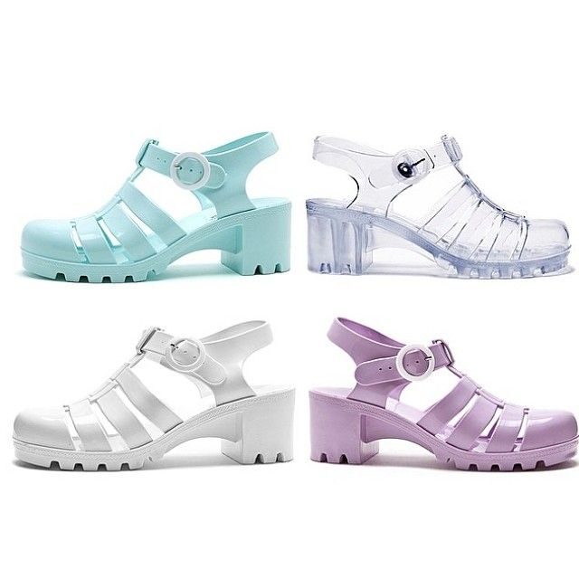 5d852e2ca27f Woven Jelly Sandals!  AmericanApparel