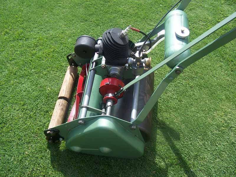 Atco kick start Reel mower, Lawn mowers, Outdoor power