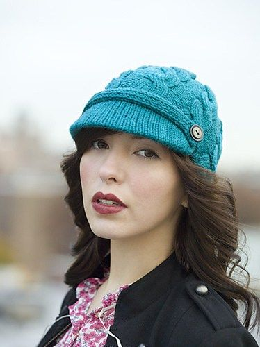 Hats With Bills And Brims Knitting Patterns Knit Hat With Brim Crochet Hat With Brim Knitted Hats