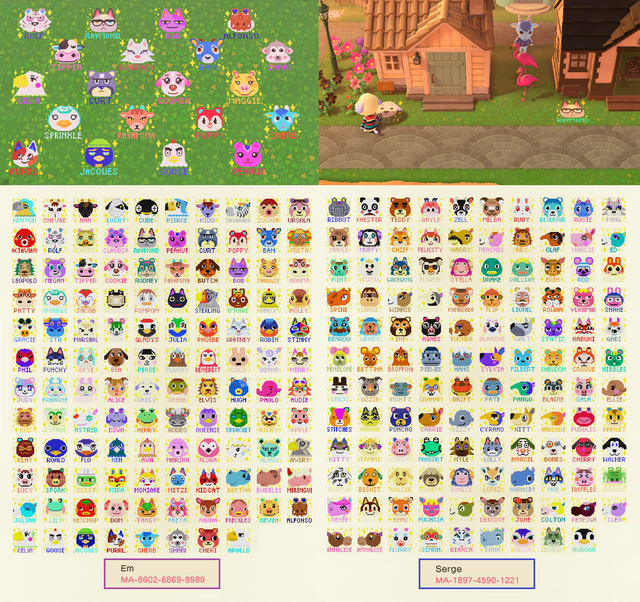 237 Villager Portraits with Names - AnimalCrossing ...