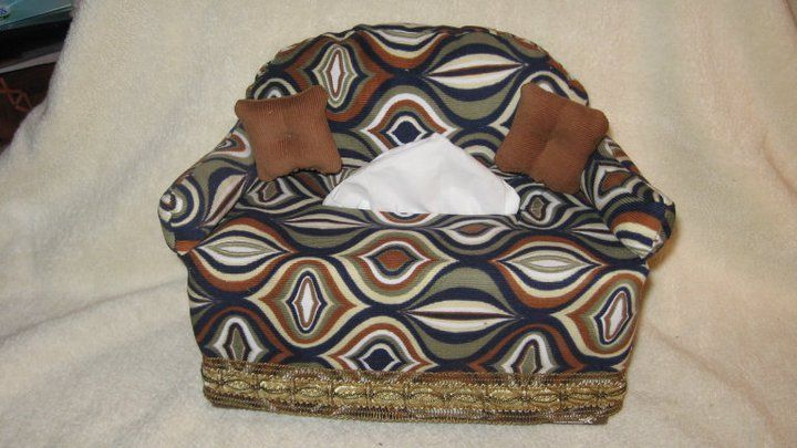 Couch Tissue Box Cover Pattern By