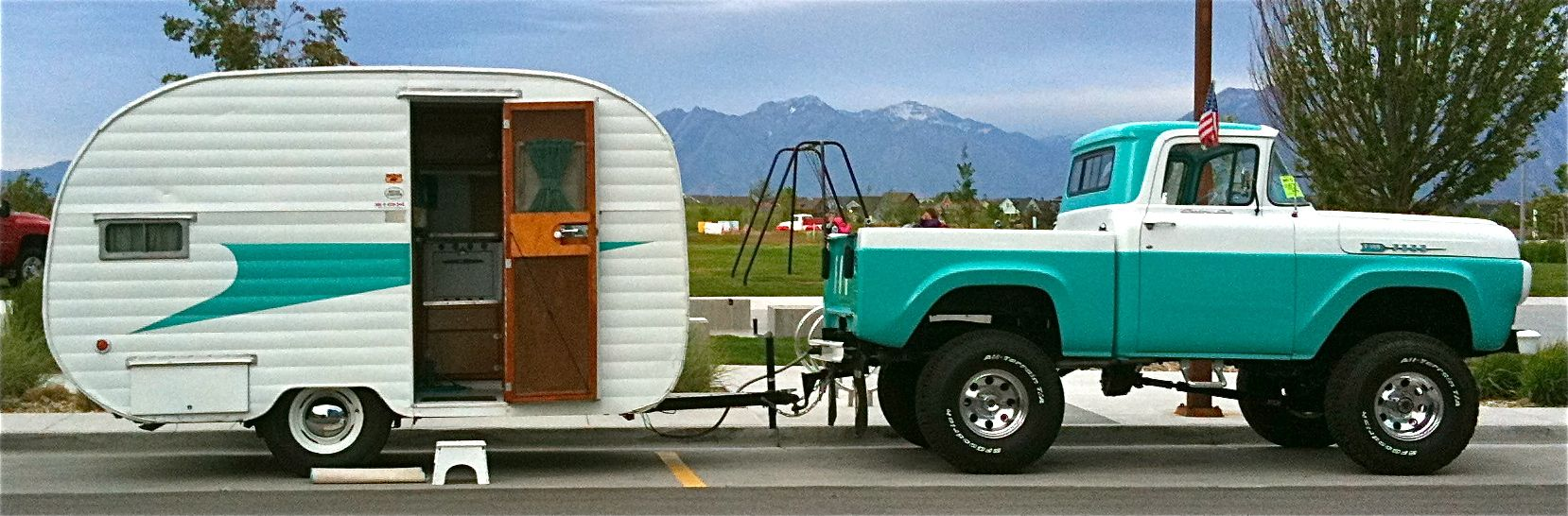 Retro Camping Style Oh Yeah