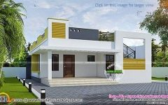 House Design For Family With Compact Contemporary House Design With One Story Duplex House In 2020 Simple House Design Kerala House Design Architecture House