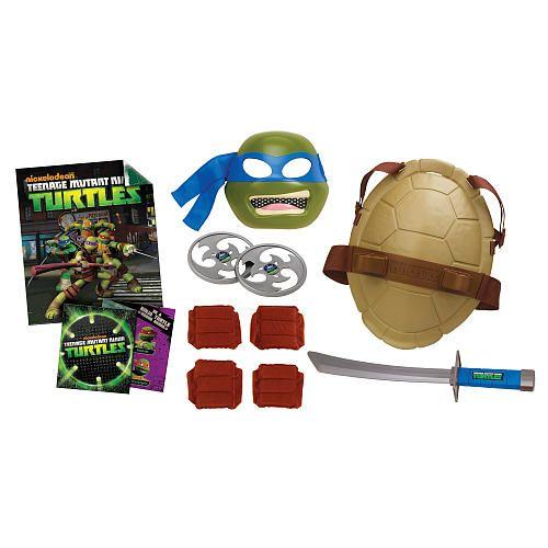 Ninja Toys For Boys : Teenage mutant ninja turtles mega roleplay pack leo