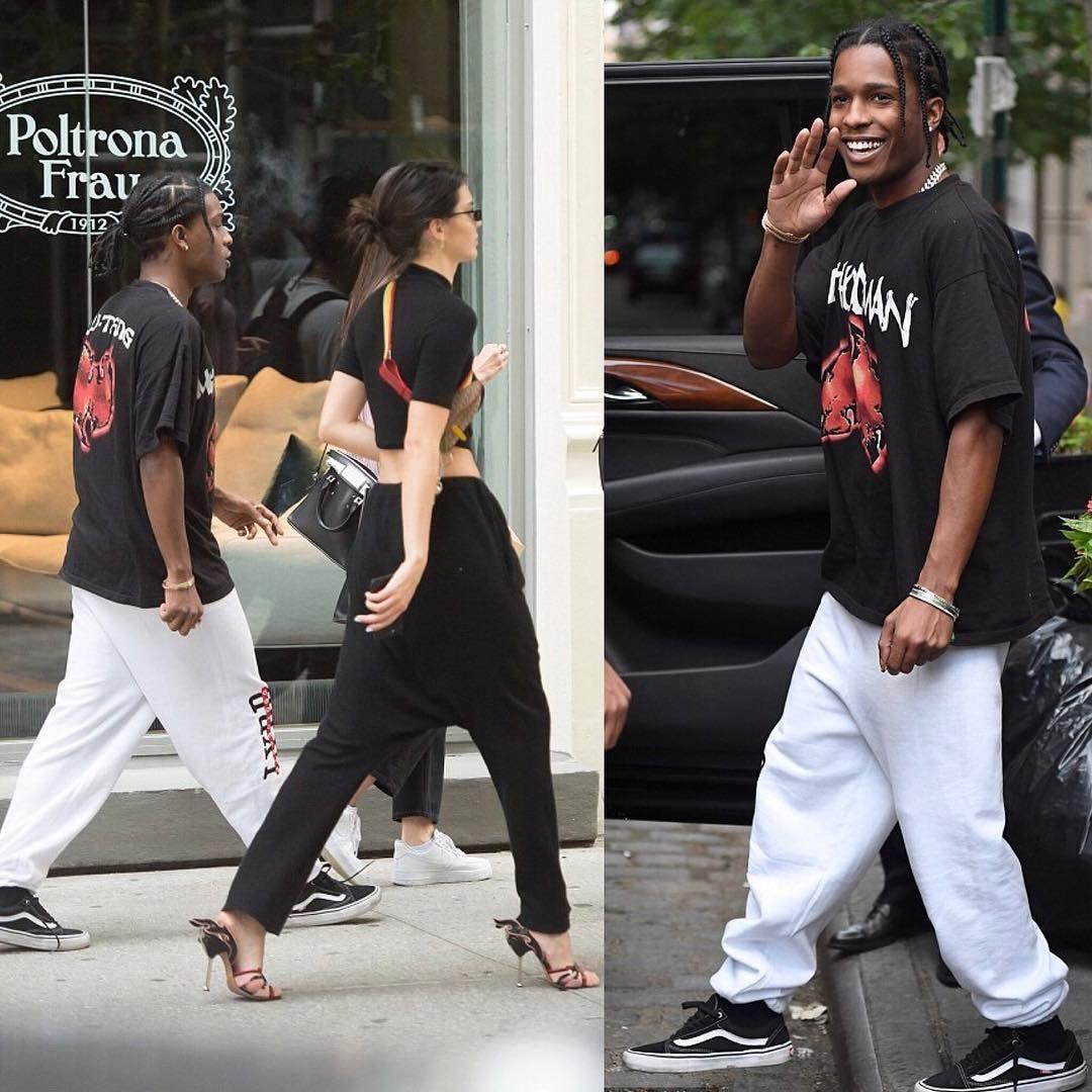 footwear top design fashion style ASAP Rocky Wears Vans Old Skool: 8 of His Best Outfits em ...