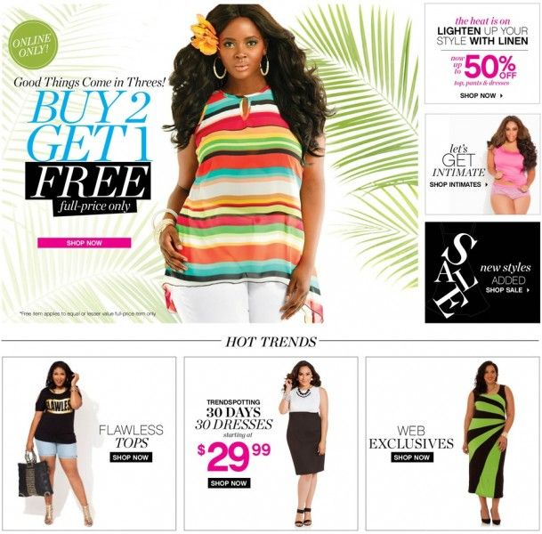 Best Plus Size Clothing for Women Websites - Page 4 of 10 - High ...