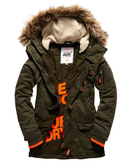 42416a8b407 Superdry Rookie Heavy Weather Parka Jacket | M fAsHIOn | Parka ...