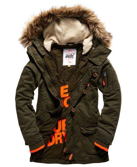 Superdry Rookie Heavy Weather Parka Jacket  760e309a3