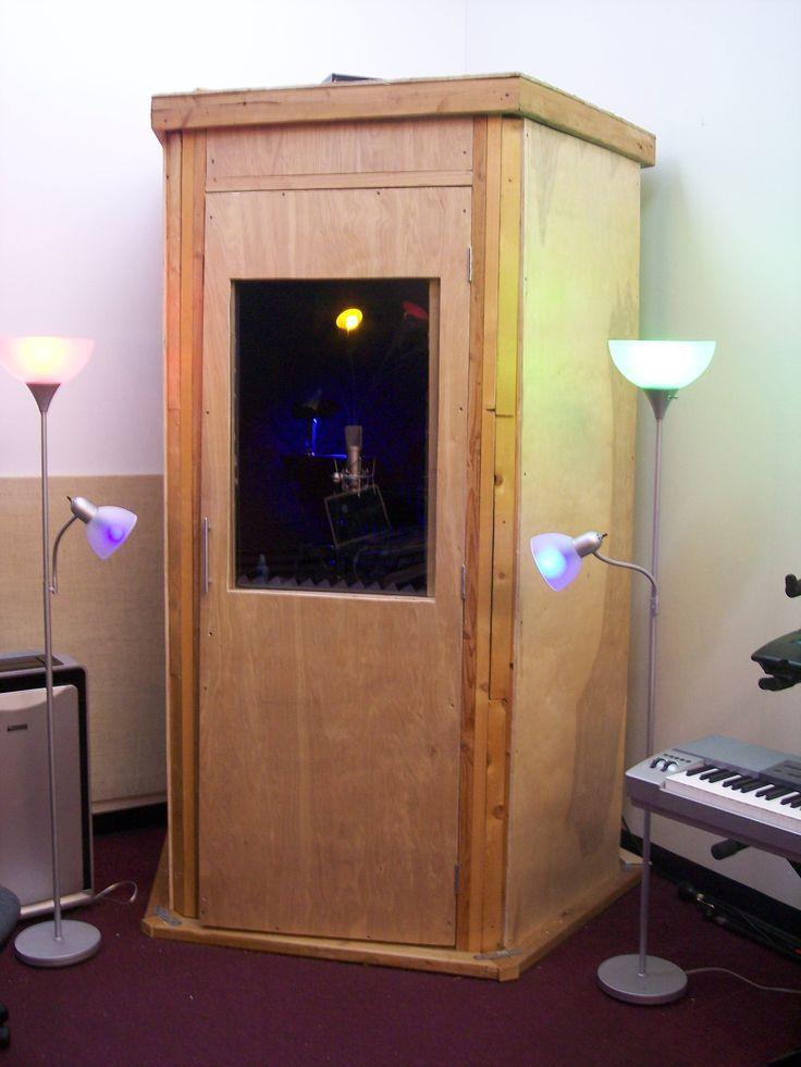 Diy home studio recording booth ideas recording studio