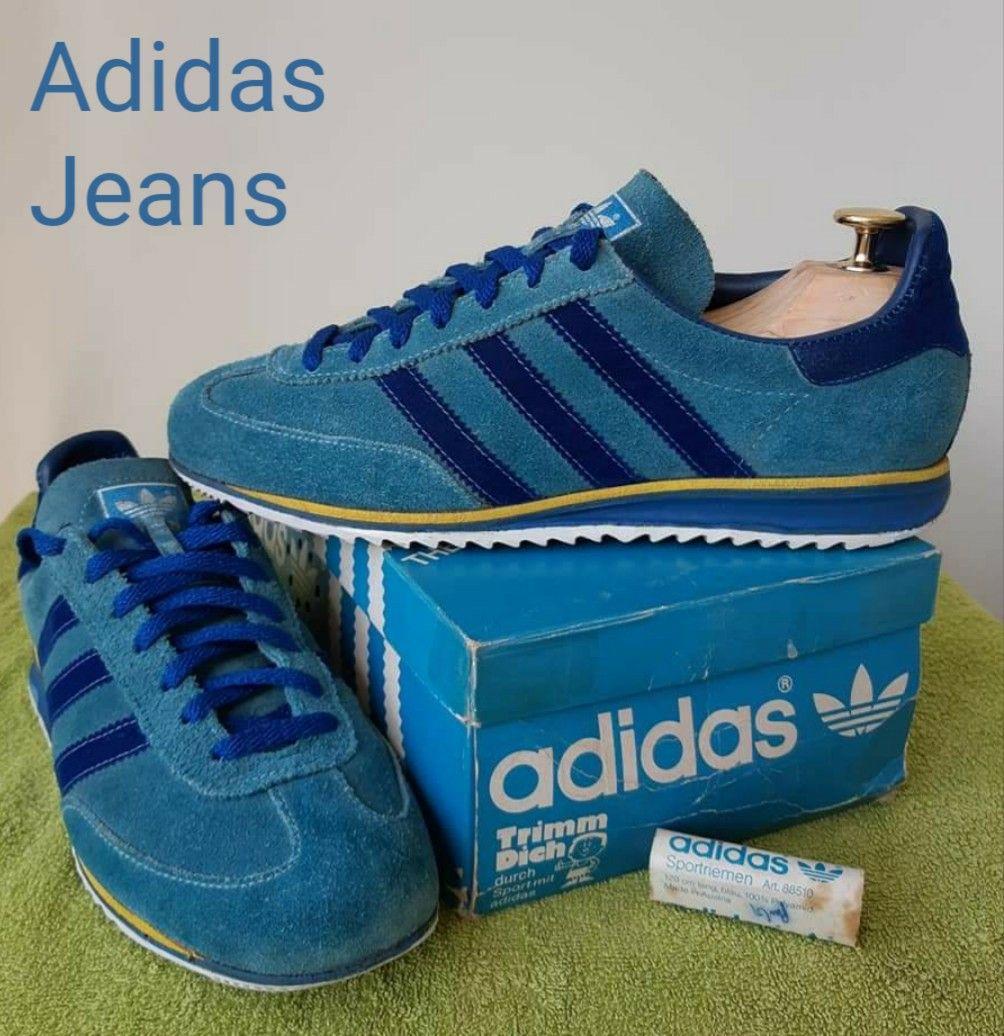 adidas jeans vintage