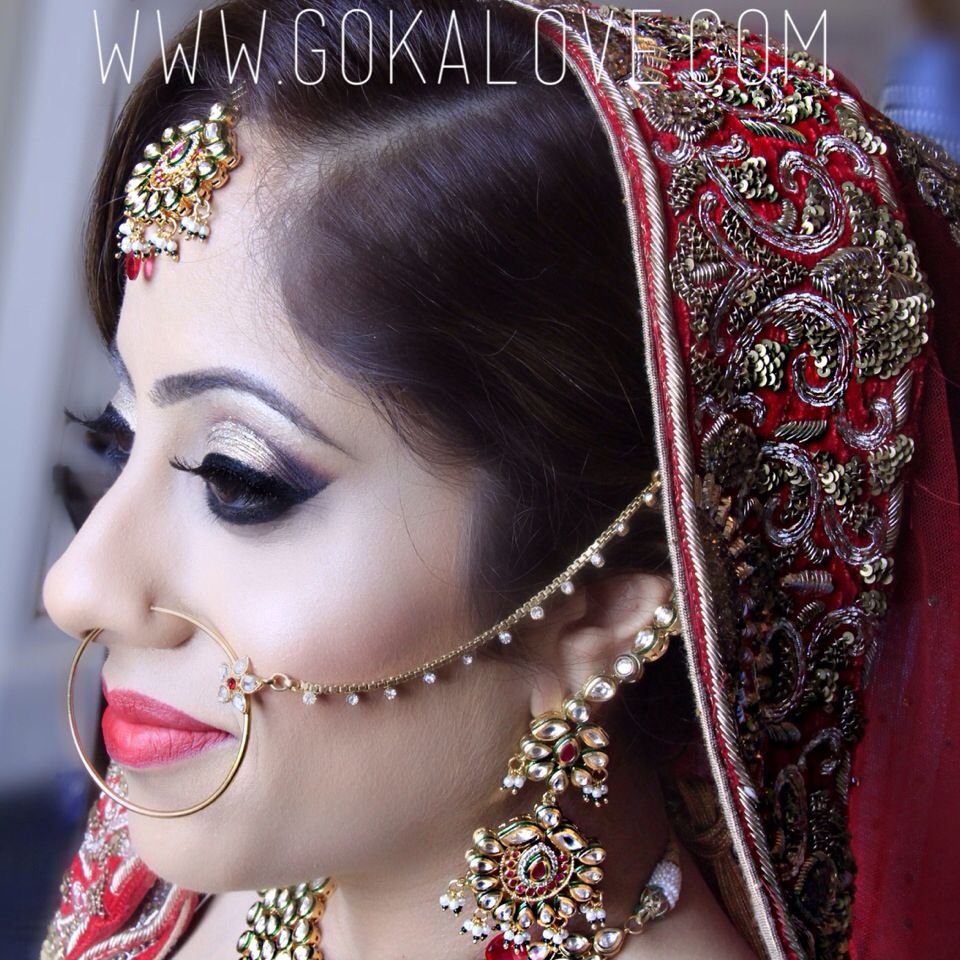 Bridal Makeup and Hair! Indian Wedding Makeup Artist and