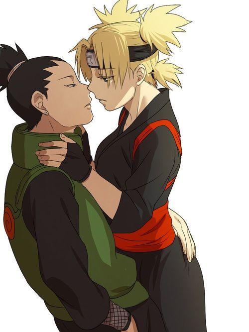 Imagem de naruto, temari, and shikamaru   Naruto ...