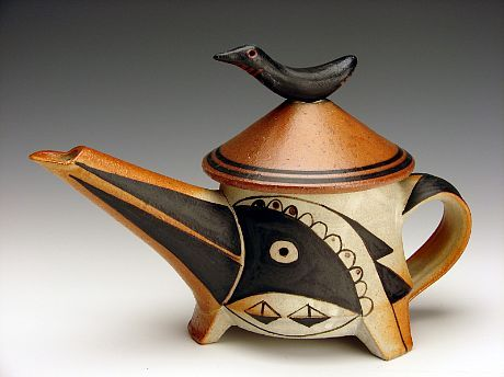 Fred Johnston - Bird Teapot, 2010