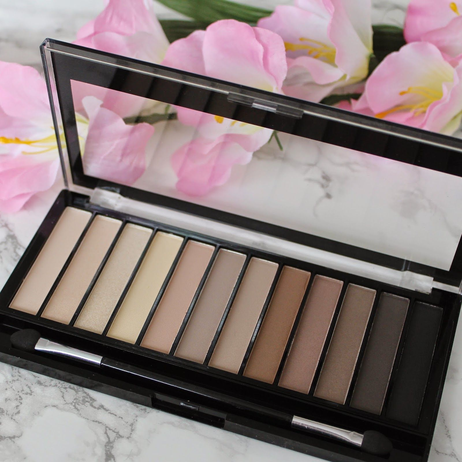 Makeup Revolution Iconic Elements palette review and