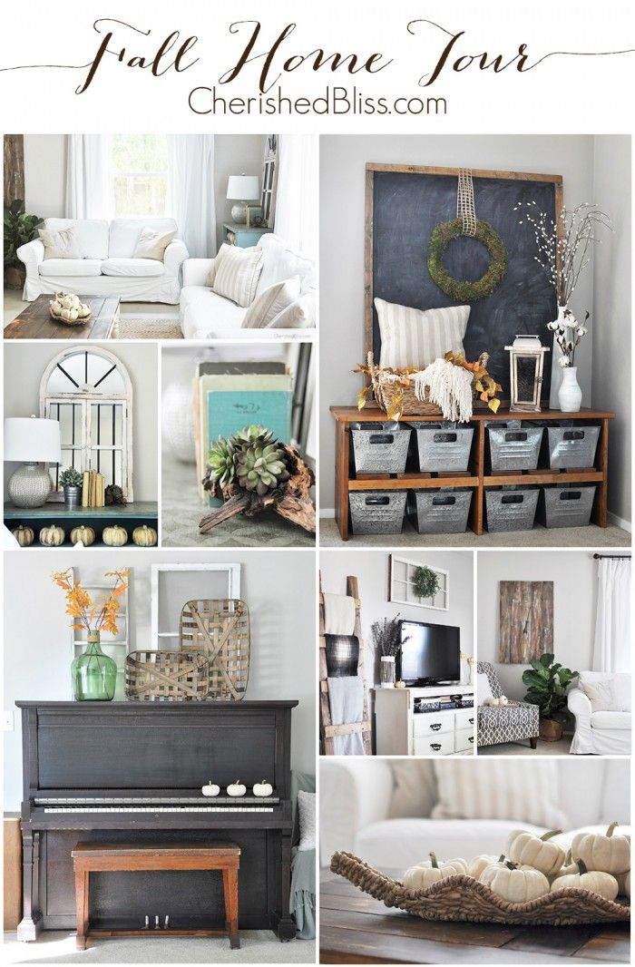 Fall Home Tour 2015 Autumn Home Decor Home