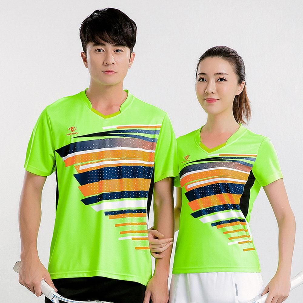 New Quick Dry Badminton Shirt Women Men Table Tennis T Shirt Tennis T Shirt Badminton Wear Shirt 5068 Badminton Shirt Womens Shirts Tennis Tshirts