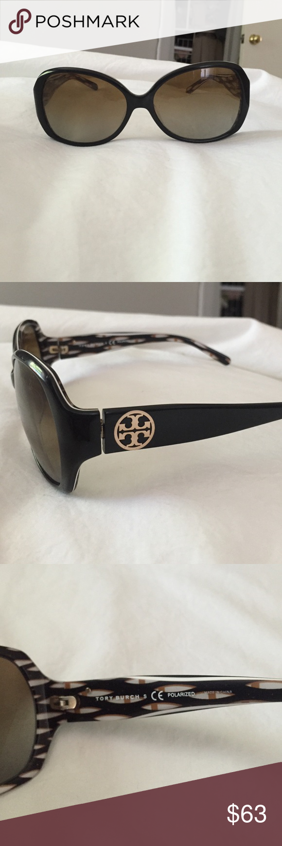 8a237b6ccccf Tory Burch Sunglasses TY7019 Frame style: cat eye Lens: polarized,  gradient. There is some wear on the lens but does not disturb viewing Tory  Burch ...