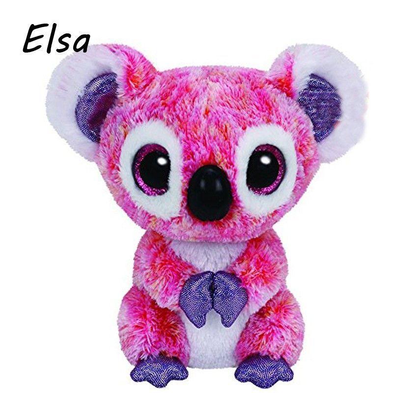 491c348137e Original Ty Beanie Boos Big Eyes Plush Toy Doll Husky Cat Owl Unicorn TY Baby  Kids Gift 10-15 cm WJ159