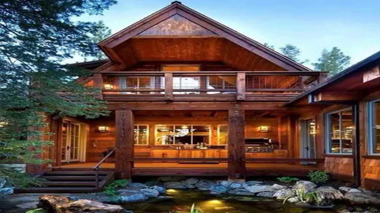красивые деревянные загородные дома и коттеджи фото ...