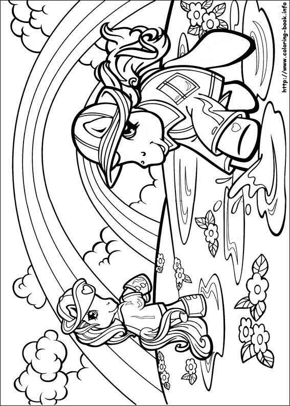 My Little Pony Coloring Page My Little Pony Coloring Horse Coloring Pages Coloring Pages
