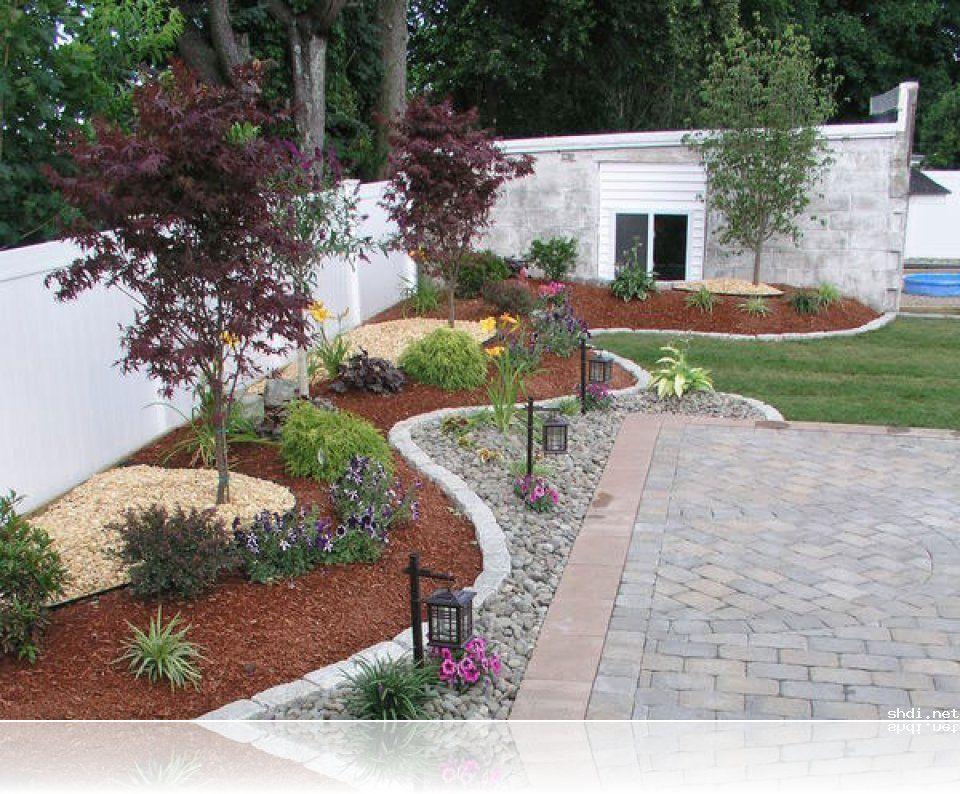 zen landscaping ideas front