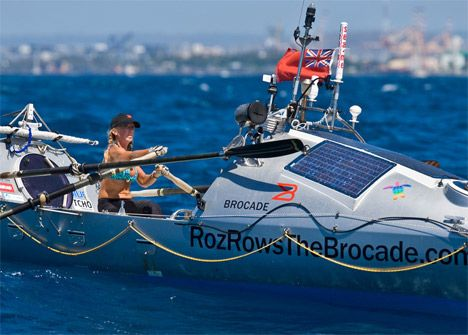 Atlantic rowers reveal dangly bits to combat blisters