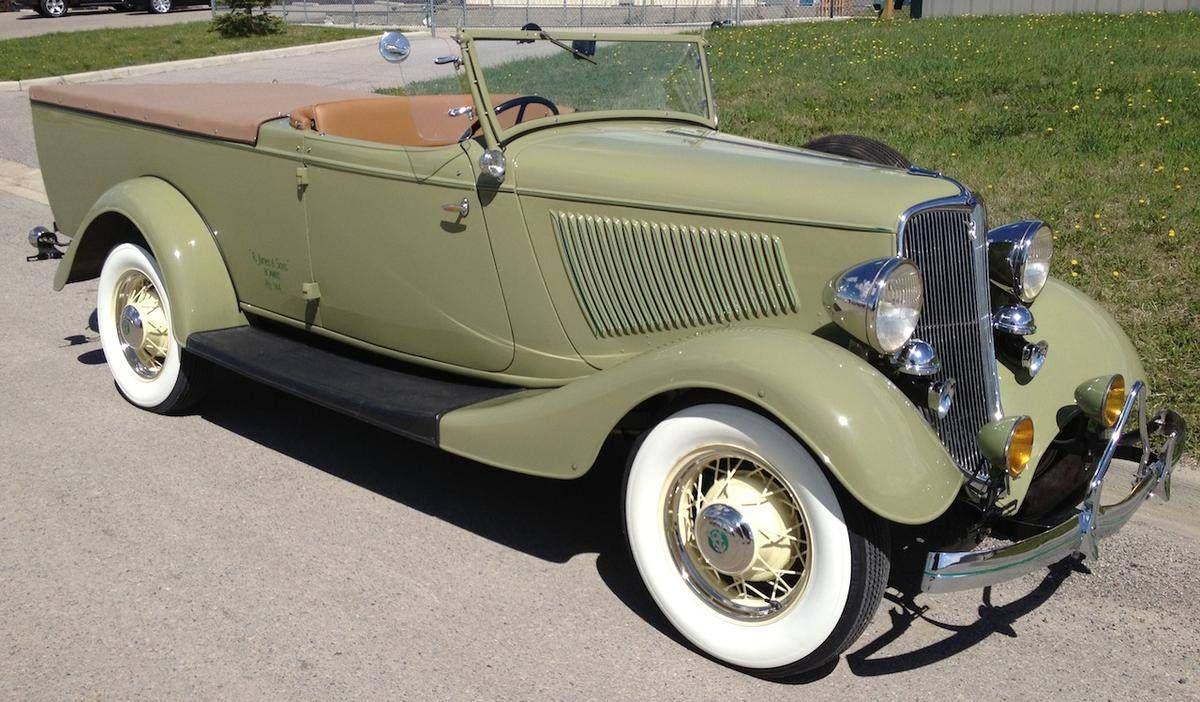 1933 Ford Roadster Ute | Pickups Panels & Vans (Original ...