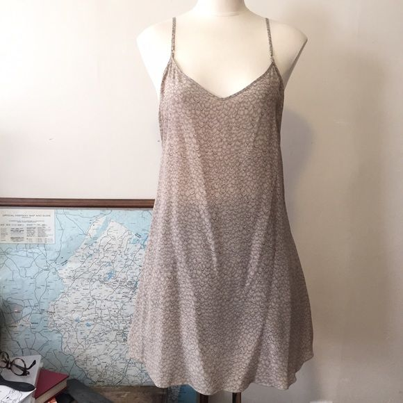 Aritzia Wilfred mini silk slip dress Beautiful silk slip dress by Wilfred for Aritzia. Worn once, perfect condition, Size large but runs more like a size medium Aritzia Dresses Mini