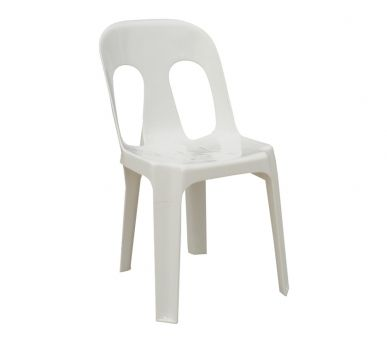 A Simple Lowu2010cost Resin Stacking Chair With A LOT Of Strength, Virtually  Indestructible