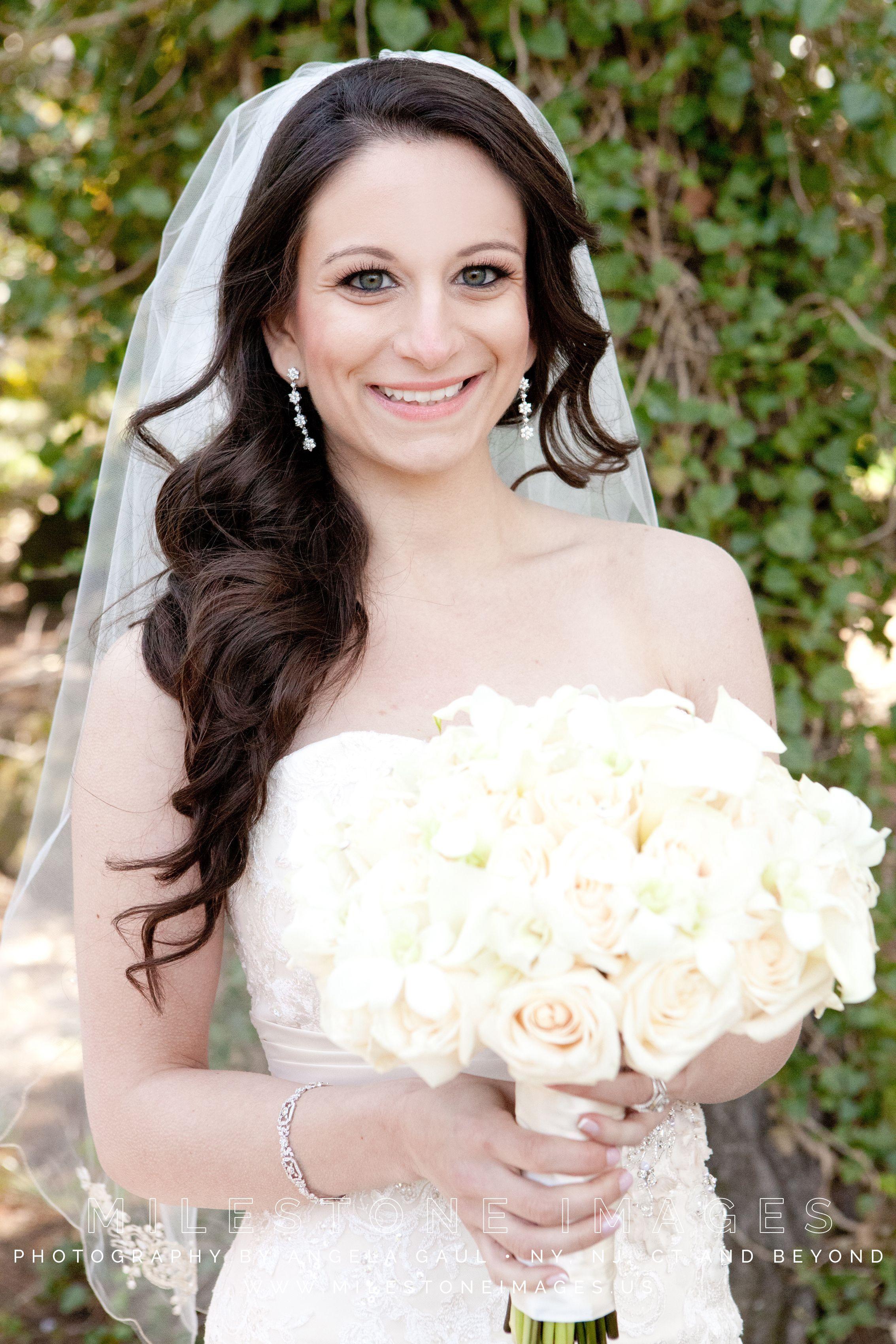 image result for bridal side ponytail | wedding <3 in 2019