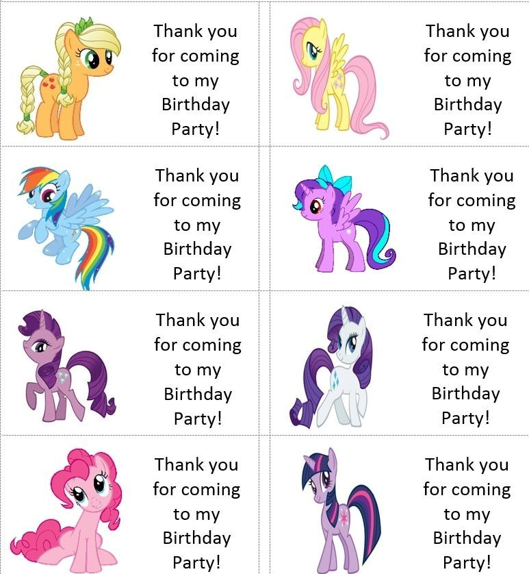 40x Personalised My little pony labels//stickers//birthday//party//cake//sweet//bags
