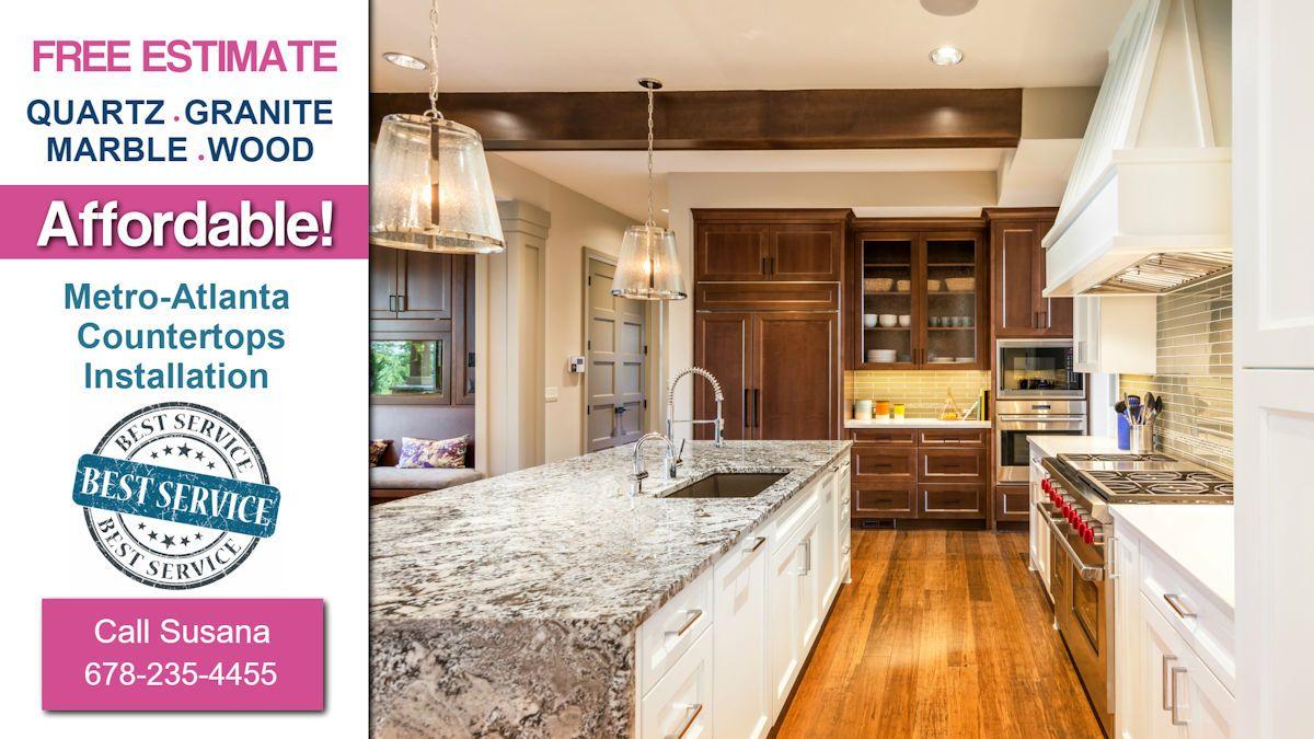 Bon Affordable Kitchen Granite Countertops Woodstock. Cartersville Granite  Kitchen Remodeling Quartz Countertops! Instalación De Mármol