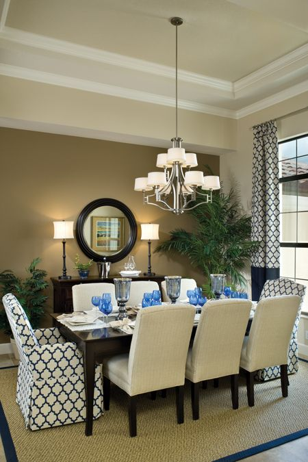 Pin By Chelsea Hoffman On Home Decor Inspiration Glamourous Dining Room Home Dining Room Curtains