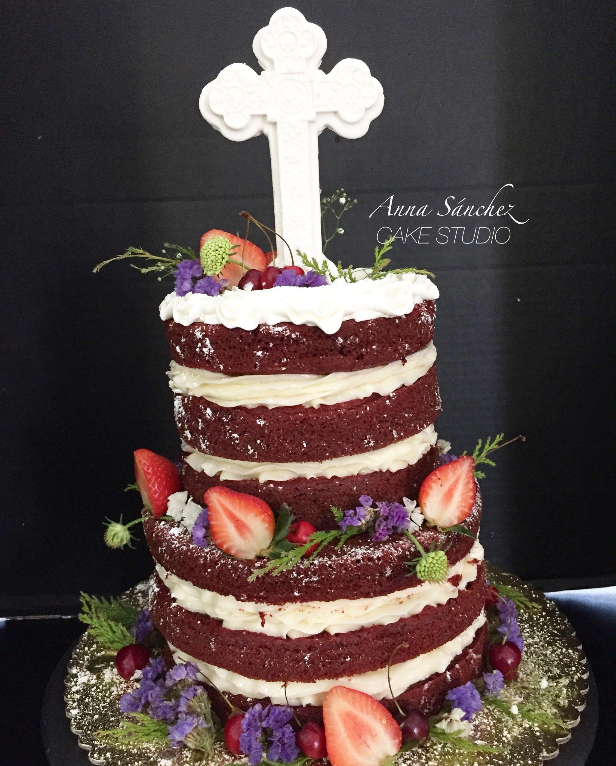 Tarta Primera Comunión Drip Cake - Sweetmama