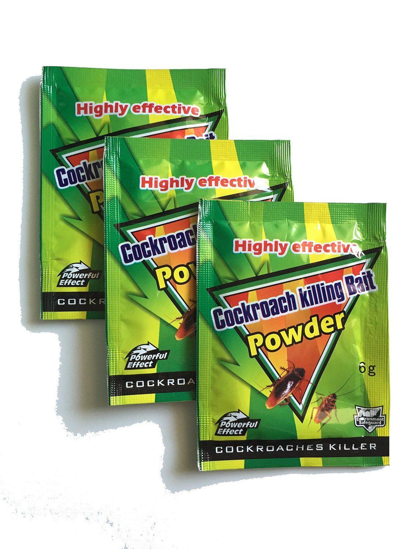 Amazon.com : HUA Highly Effective Cockroach Killer Bait Powder(3pcs ...