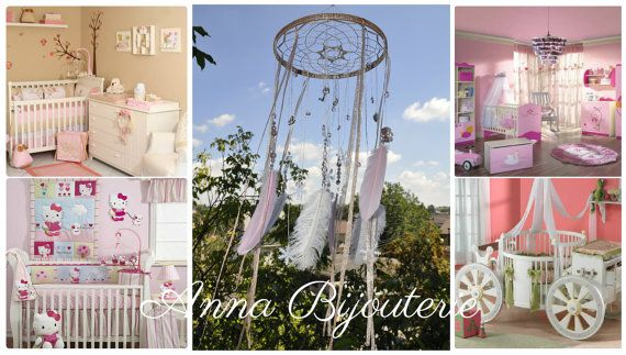 Hey, I found this really awesome Etsy listing at https://www.etsy.com/listing/458914832/pink-girl-tender-dream-nursery-mobile