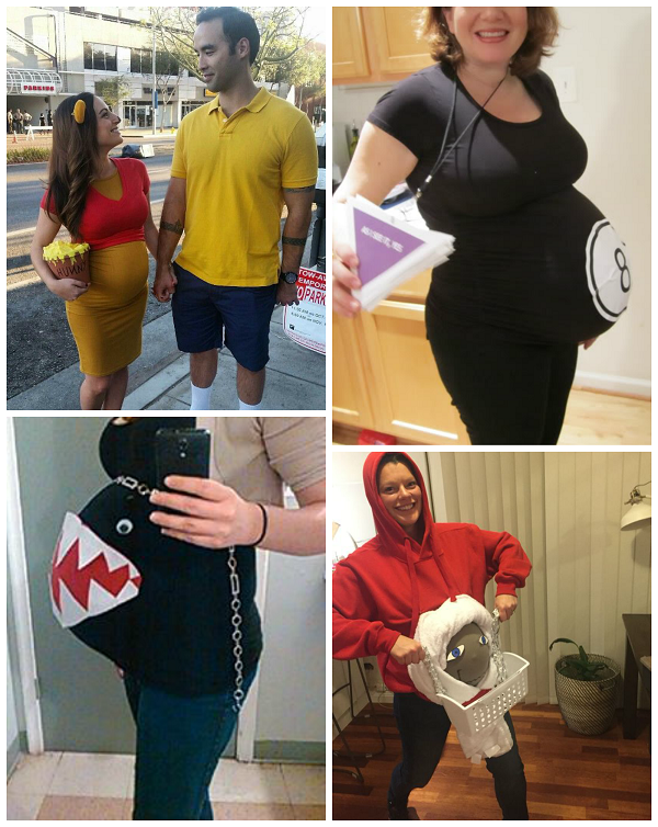 clever pregnant halloween costume ideas - Pregnant Costumes Halloween