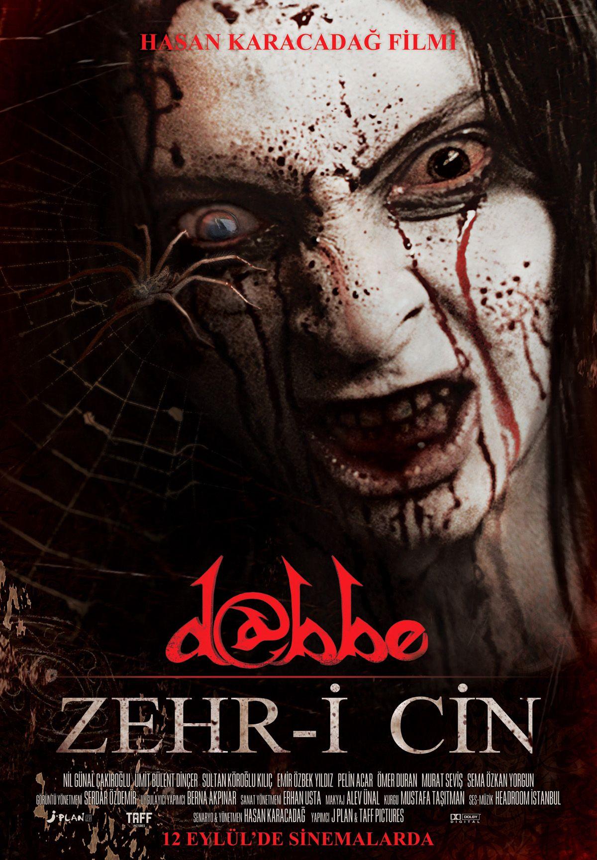Dabbe 5 Zehri Cin Yerli Film Tek Link Indir Film Indir Korku Filmleri Film Korku