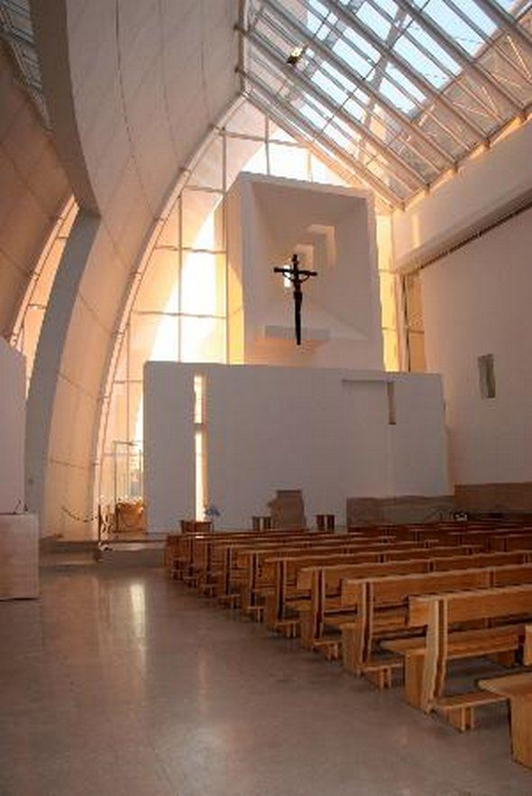 Jubilee Church, by Richard Meier / Roma, Italy | Inspiration ideas ...