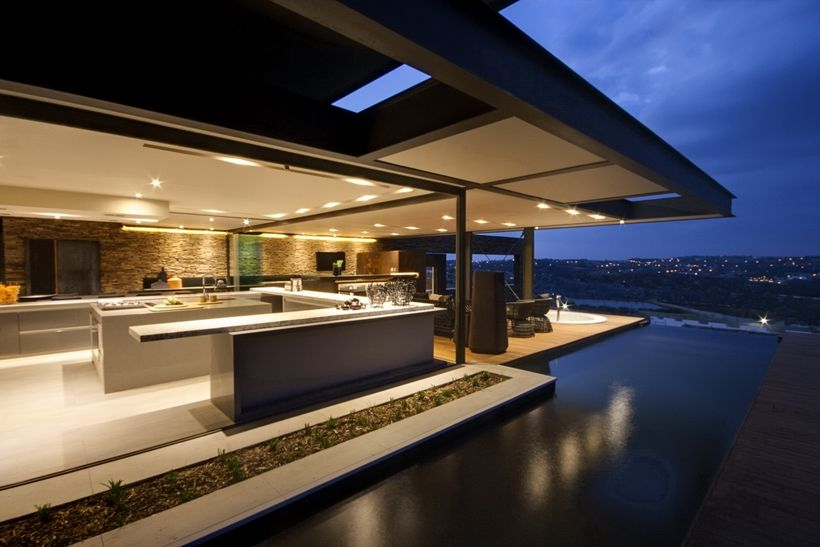 Famous Living Architects house boz is yet another impressive modern mansion designed